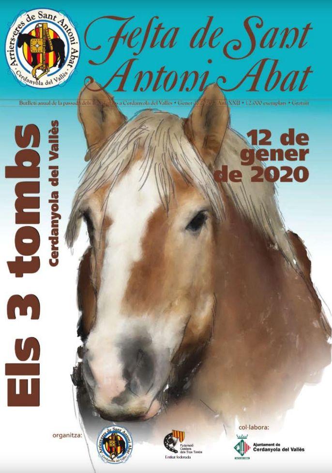 Portada de la revista de Sant Antoni Abat