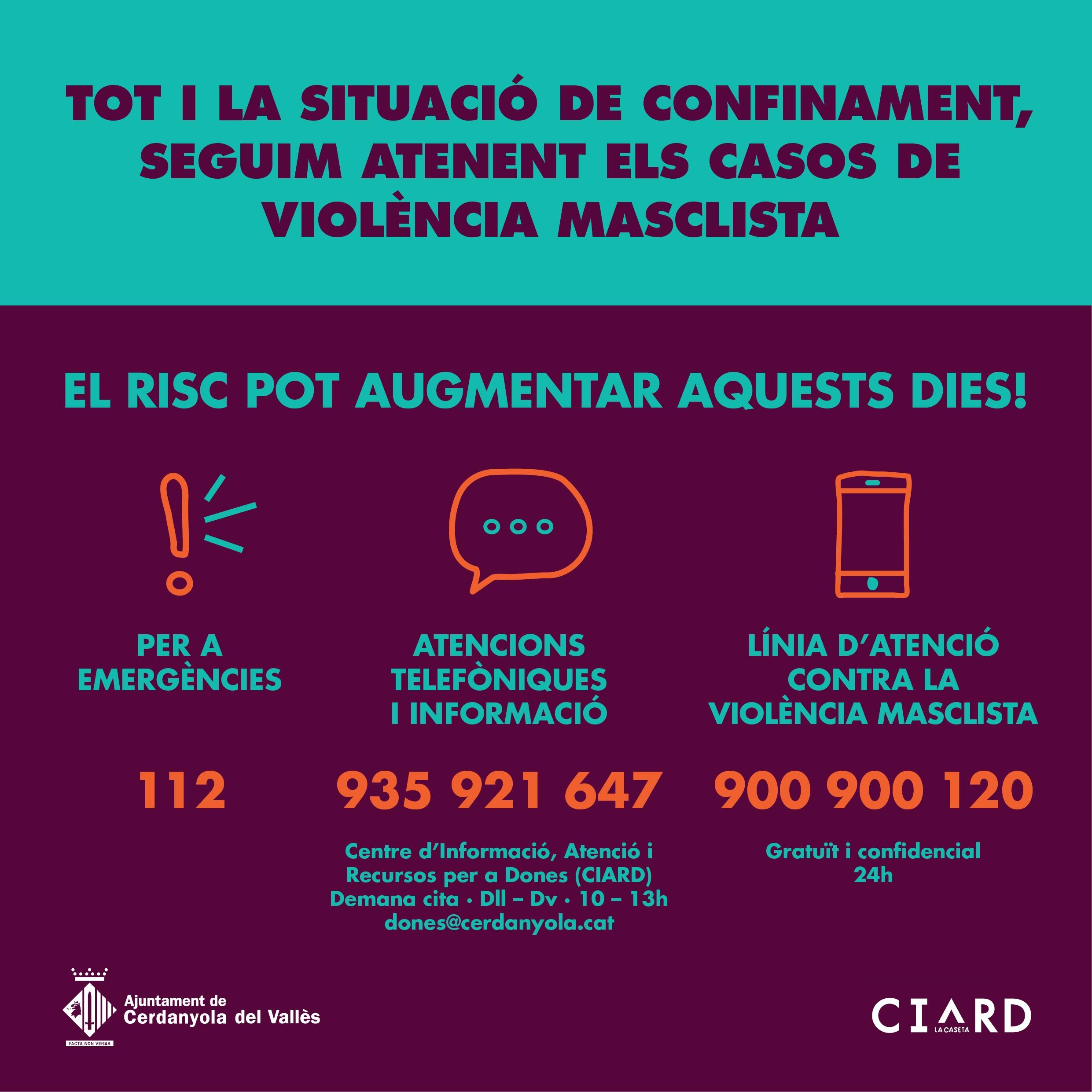 Imatge CIARD confinament