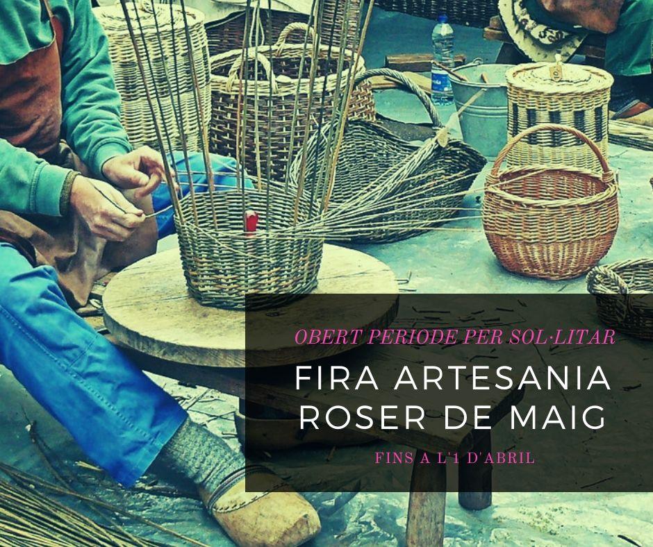 Imatge termini sol·licitud parada a la fira d'artesania del Roser de Maig