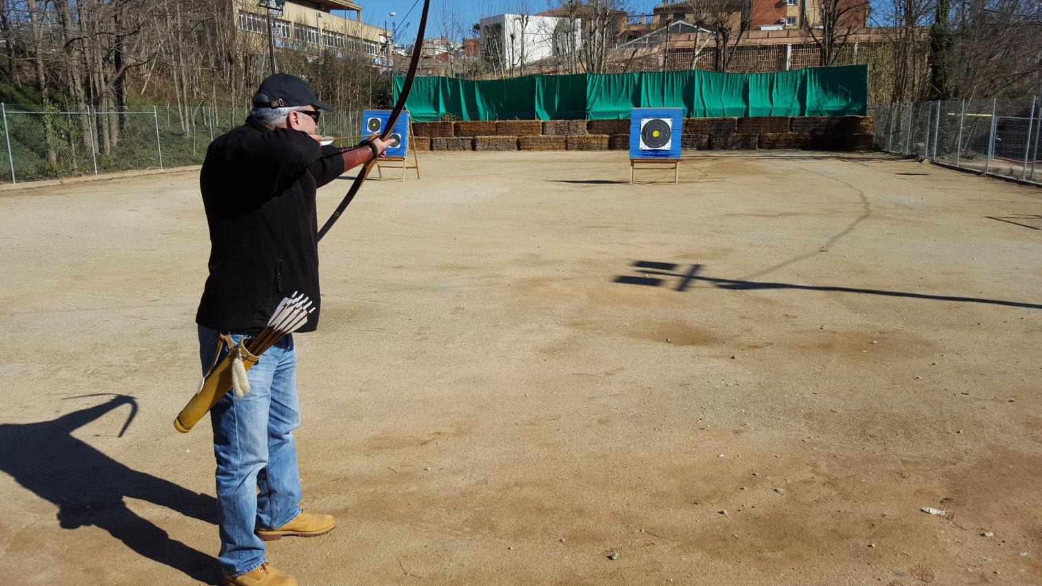 El tir amb arc és un dels esports que es practiquen a la ZEM Montflorit