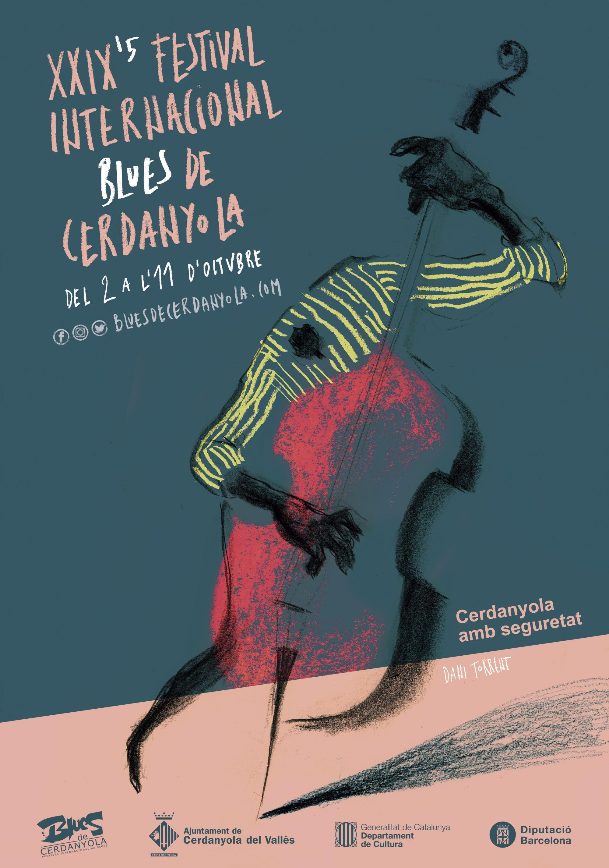 Cartell Festival Internacional de Blues de Cerdanyola