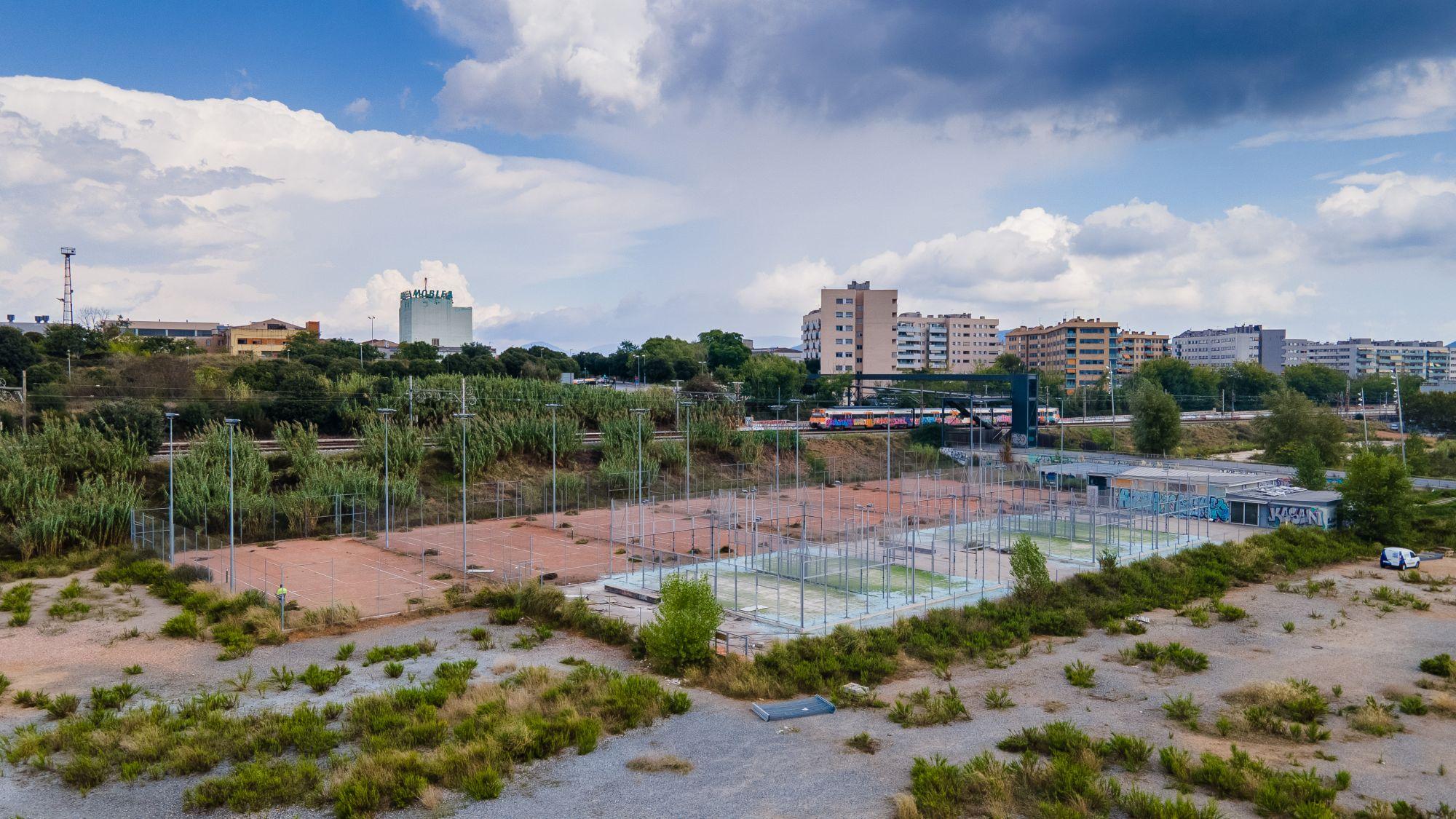 Foto de l'estat actual del CEM Riu Sec