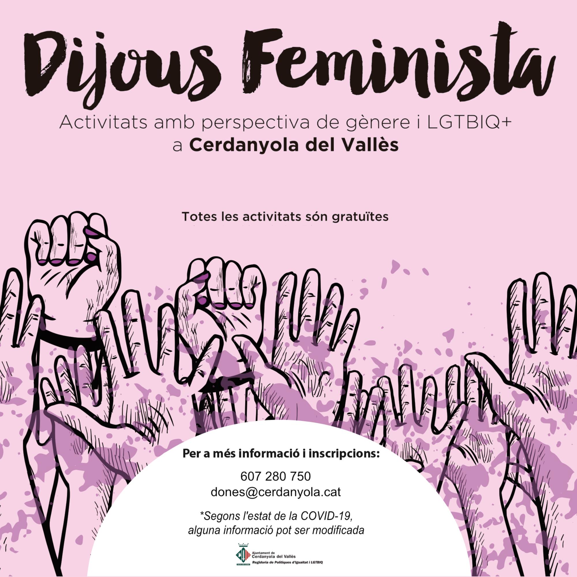 Imatge del programa Dijous Feminista