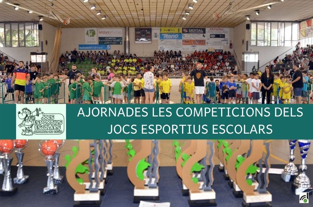 Jocs Esportius Escolars ajornats