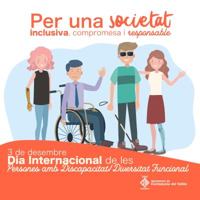 imatge Dia Internacional de les persones amb discapacitat/diversitat funcional