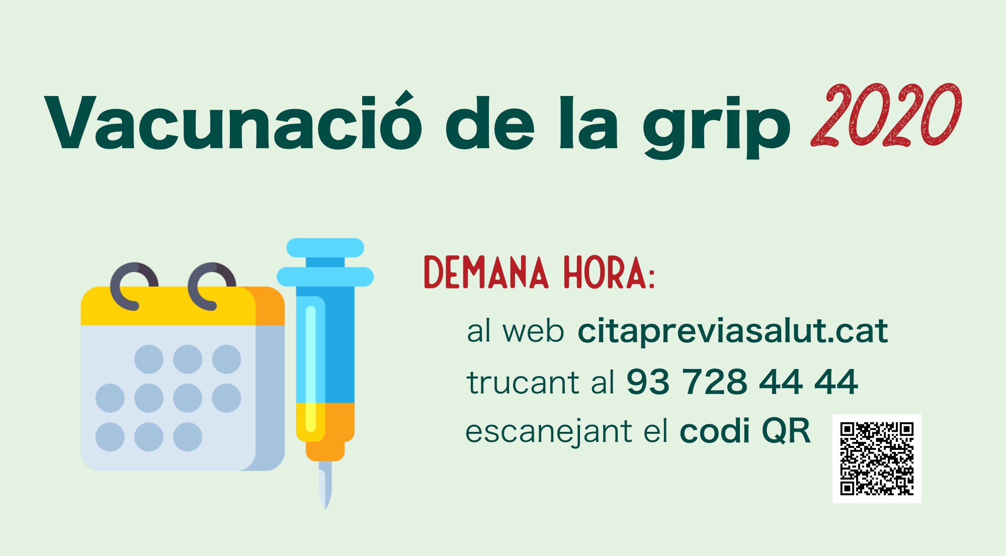 A Cerdanyola, la vacuna s'administrarà a la sala Elisa Arimany