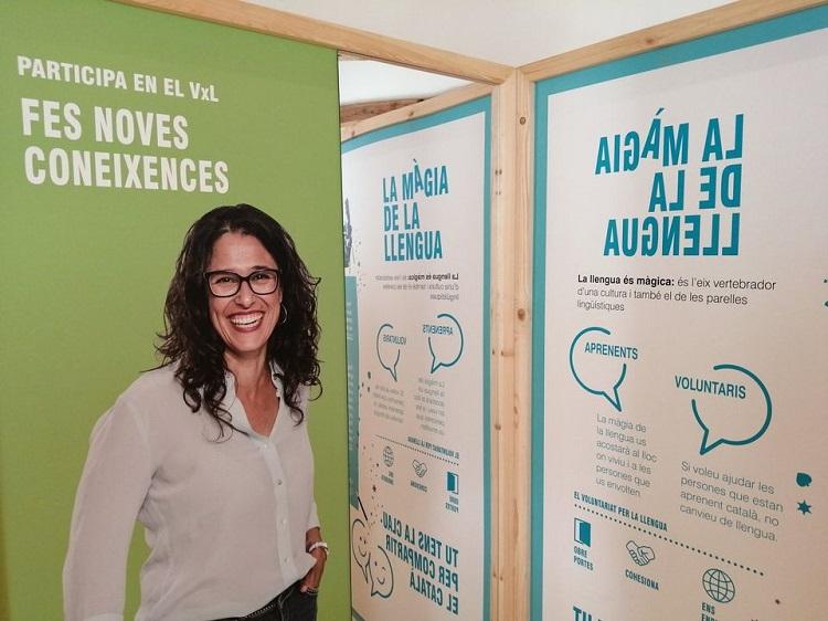 Imatge del programa Voluntariat per la llengua