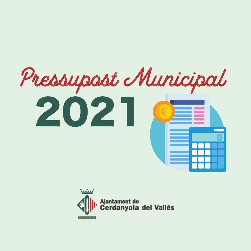 Pressupostos Municipals 2021