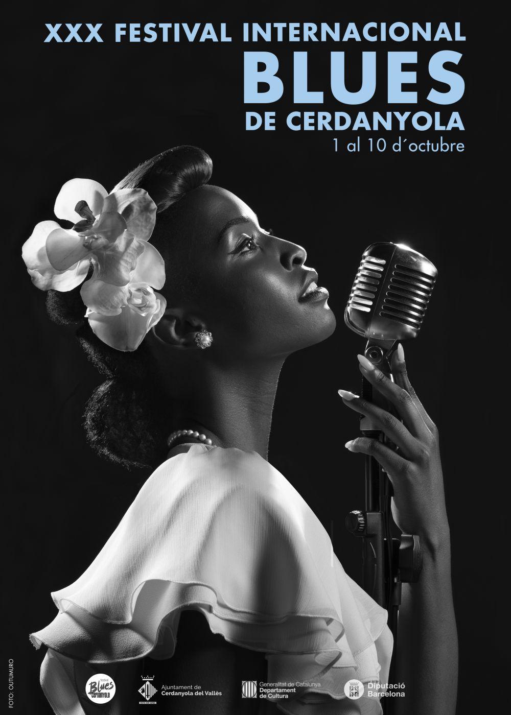 Cartell Festival Internacional de Blues de Cerdanyola 2021