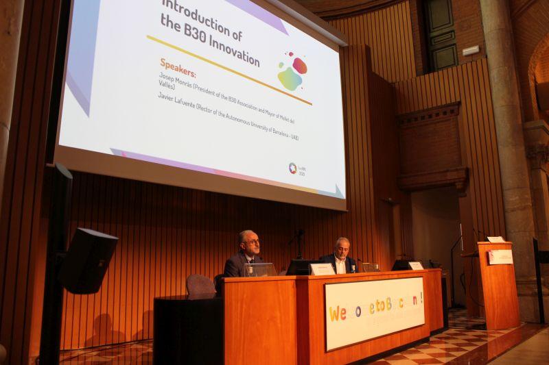 foto de la conferència
