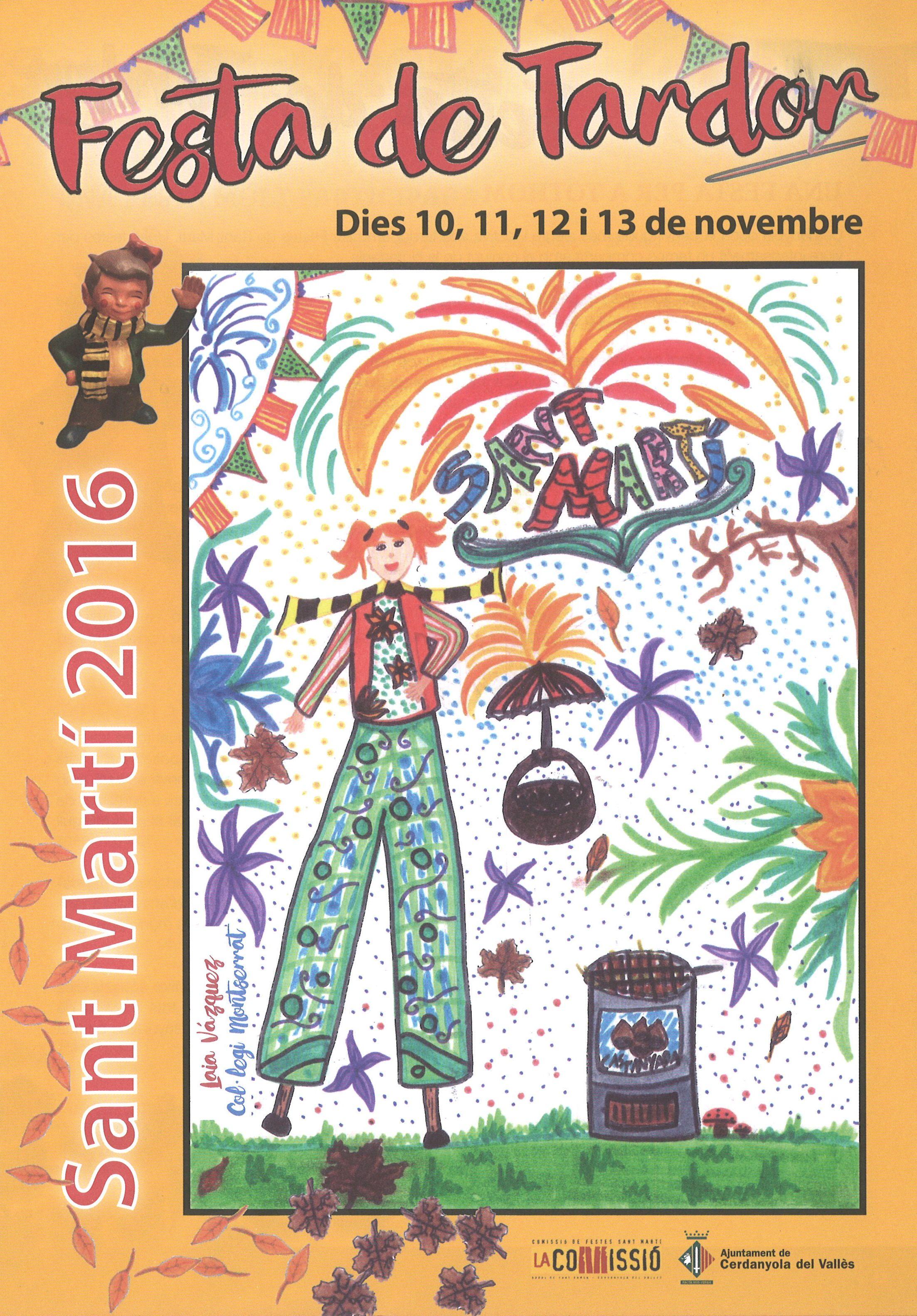 Portada de la revista de la Festa de Tardor Sant Martí 2016