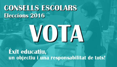 Resultat d'imatges de eleccions consell escolar