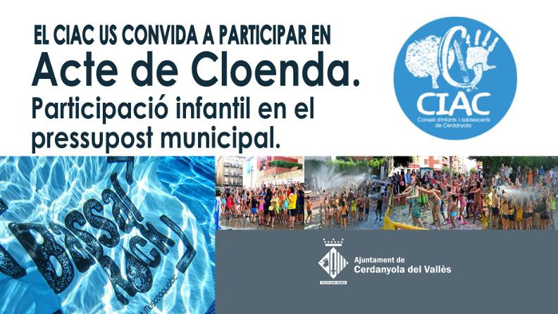 Banner del CIAC - Acte de cloenda
