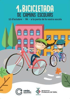 Bicicletada camins escolars