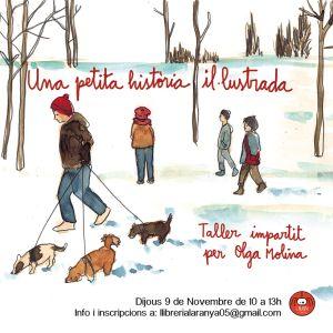 Taller intensiu d'il·lustració Olga Molina