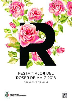 Cartell Festa Roser de Maig 2018