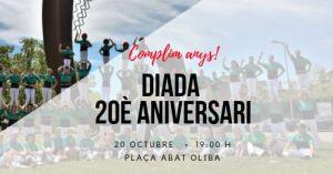Diada 20è aniversari Castellers