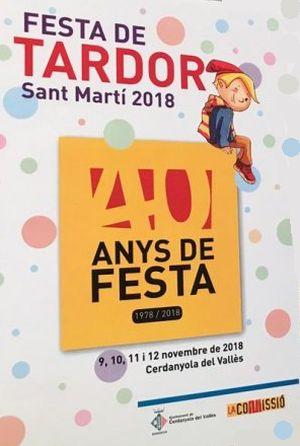 40è aniversari Festa de Sant Martí