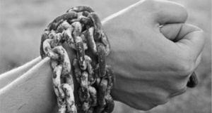 imatge al·legòrica d'esclavitud
