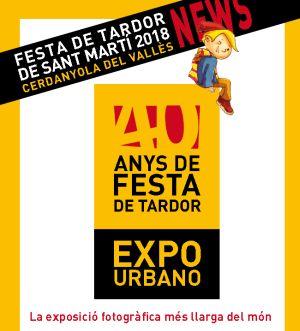 Exposició fotografies '40 anys de Festa de Tardor' de Pepe Urbano