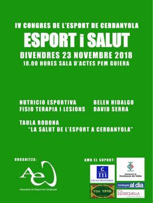 IV Congrés de l'Esport de Cerdanyola