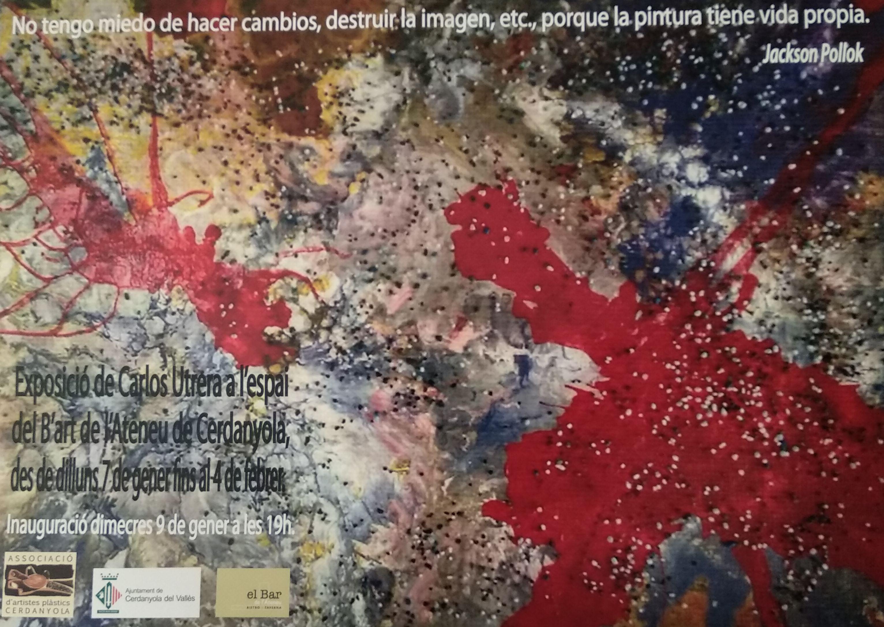 Cartell de l'exposició de Carlos Utrera