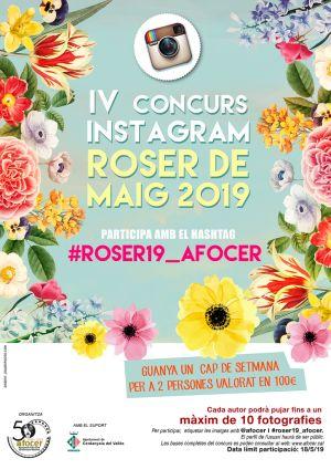 Concurs Instagram Roser de Maig