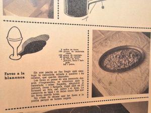 Imatge de l'exposició Menús de Guerra