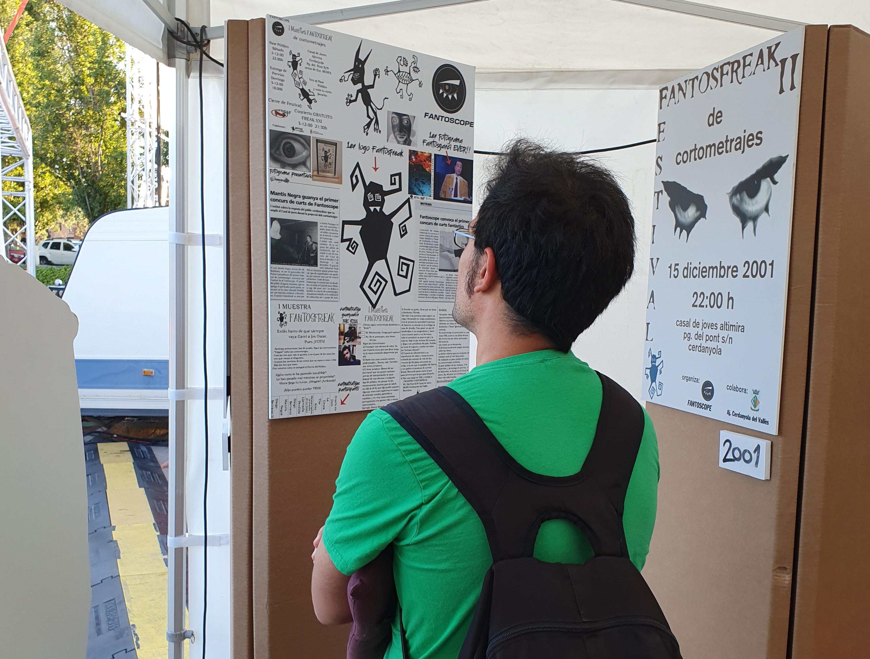 L'exposició es va poder visitar durant la darrera edició del Festival Fantosfreak