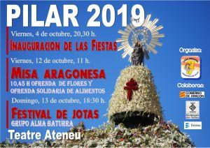 Festes del Pilar de la Casa de Aragón 2019