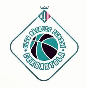 Logo Club Bàsquet Cerdanyola Femení