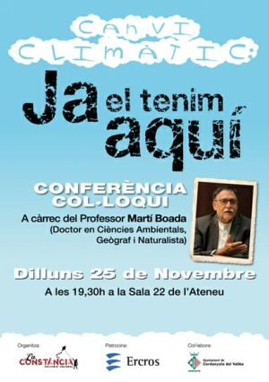 cartell de la conferència