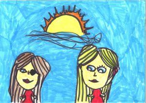 dibuix guanyador d'Ailén Hernández-Escola Turó de Guiera