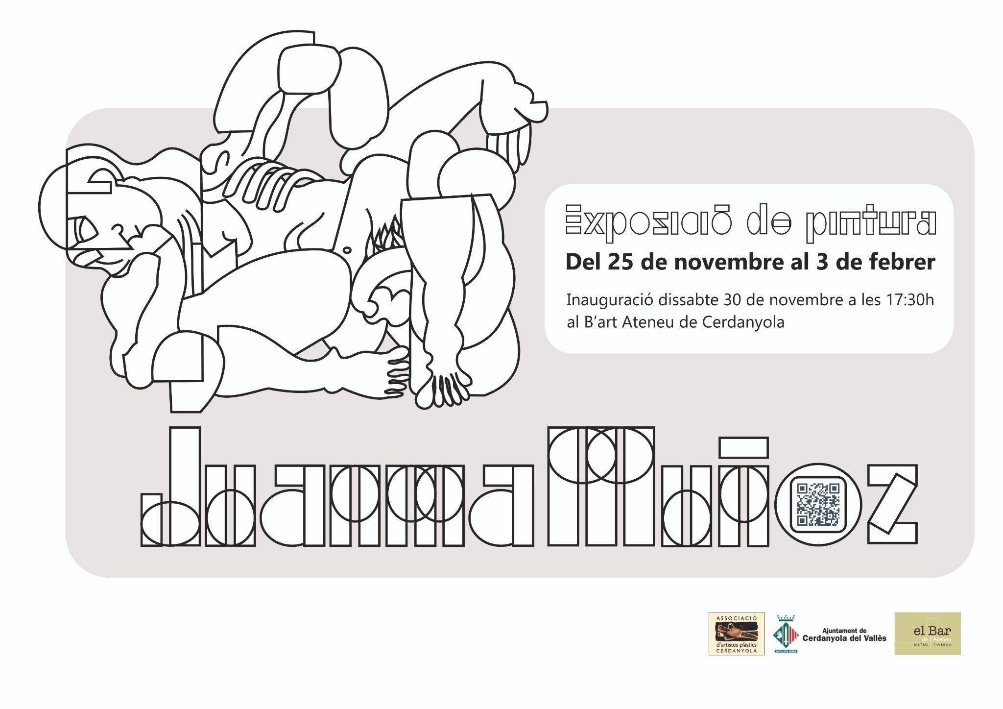 Cartell mostra Juanma Muñoz