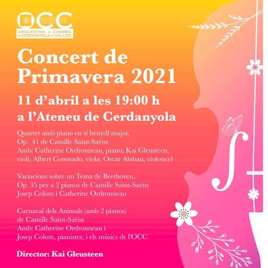 cartell del concert