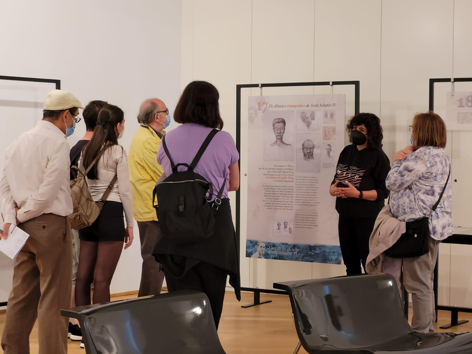 Visita guiada a l'exposició Jordi Sabater Pi. L'art de la ciència