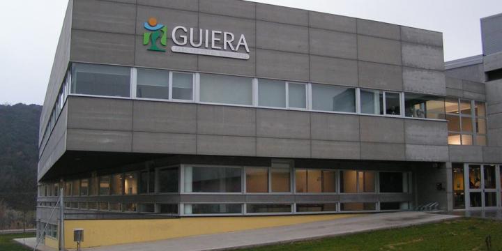Vista de les instal·lacions del Parc Esportiu Municipal de Guiera
