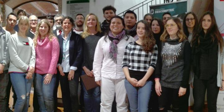 Participants i col·laboradors en el programa Yuzz a Cerdanyola