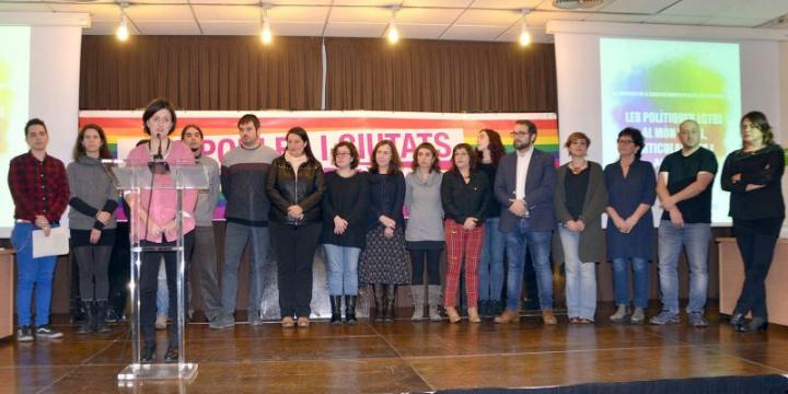 Presentació de les primeres Jornades de la Xarxa de Municipis LGTBI