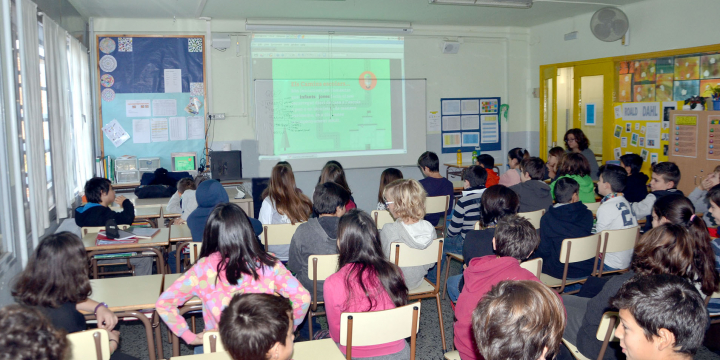 Reunió de treball del projecte de camins escolars
