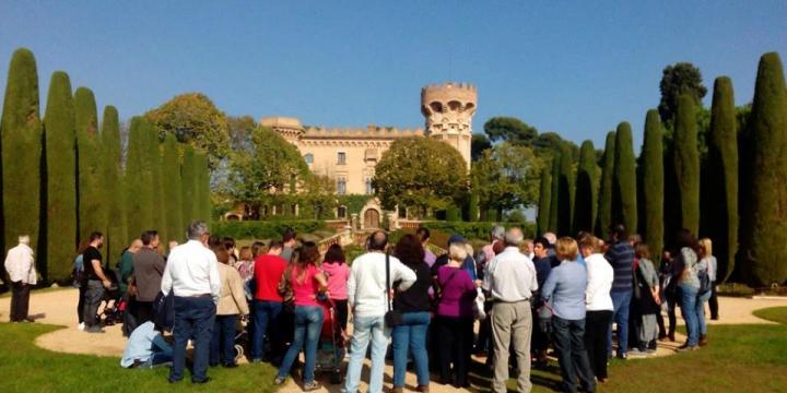 Visita guiada pels voltants del Castell de Sant Marçal per a conèixer la seva història