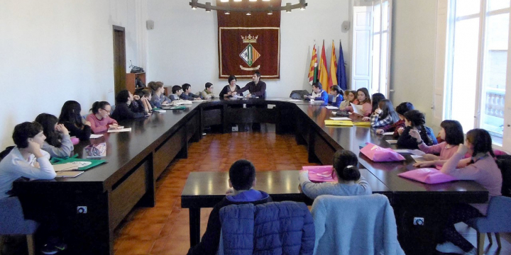 Plenari del Consell d'Infants i d'Adolescents