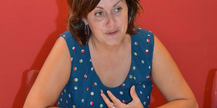 La regidora d'Educació Elvi Vila