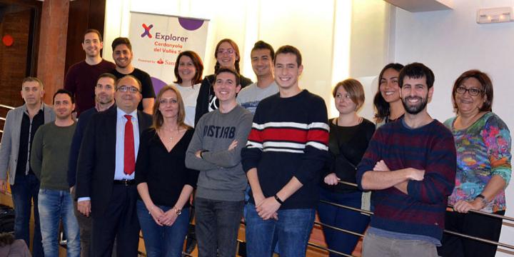 Participants en el Programa Explorer 2018