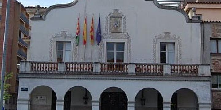 Façana de l'Ajuntament
