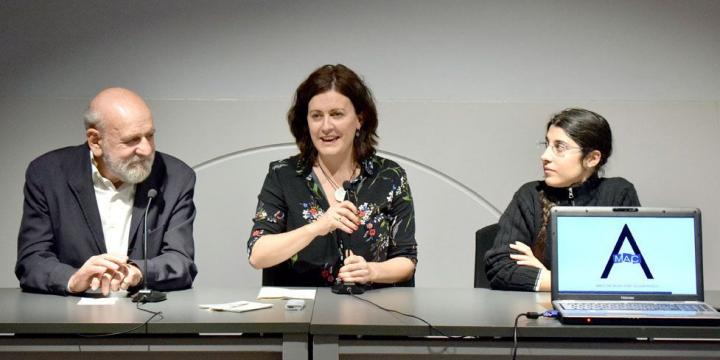 Jesús Bolinaga, Elvi Vila i Eva Campos