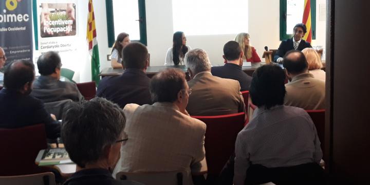 Moment de la presentació del programa Accelera el Creixement 2018