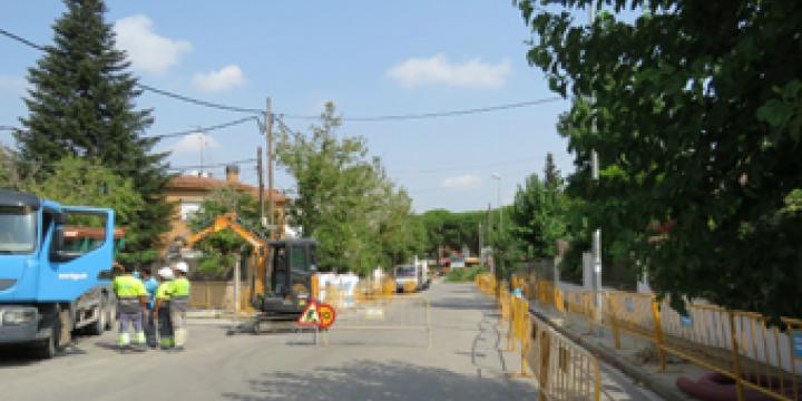 Carrer de la Martinica, tram entre carrer Torras i Bages i Plaça Marconi
