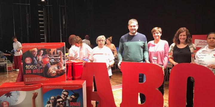 L'alcalde Carles Escolà i la regidora Elvi Vila han visitat la marató