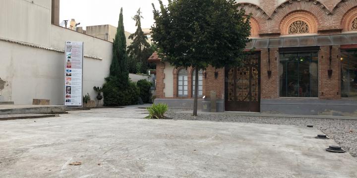 Les obres ja han començat al pati del Museu d'Art de Cerdanyola